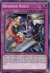 Revenge Rally, YuGiOh, Rise of the Duelist