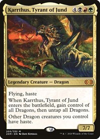 Karrthus, Tyrant of Jund, Magic: The Gathering, Double Masters