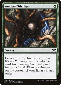 Ancient Stirrings, Magic: The Gathering, Double Masters