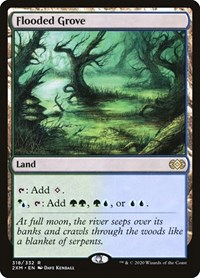Flooded Grove, Magic: The Gathering, Double Masters