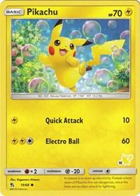 Pikachu - 19/68 (#15 Pikachu Stamped), Pokemon, Battle Academy