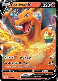 Charizard V, Pokemon, SWSH03: Darkness Ablaze