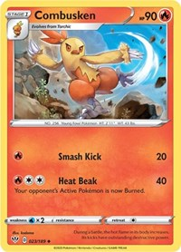 Combusken, Pokemon, SWSH03: Darkness Ablaze