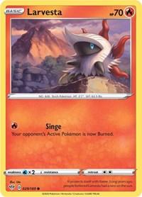 Larvesta, Pokemon, SWSH03: Darkness Ablaze