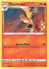 Fletchinder, Pokemon, SWSH03: Darkness Ablaze