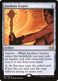 Isochron Scepter, Magic: The Gathering, Double Masters