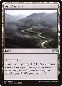 Ash Barrens, Magic: The Gathering, Double Masters