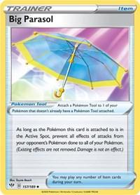 Big Parasol, Pokemon, SWSH03: Darkness Ablaze