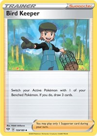 Bird Keeper, Pokemon, SWSH03: Darkness Ablaze