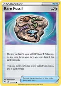 Rare Fossil, Pokemon, SWSH03: Darkness Ablaze
