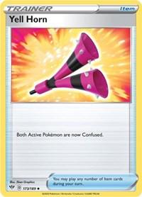 Yell Horn, Pokemon, SWSH03: Darkness Ablaze