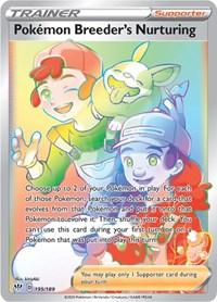 Pokemon Breeder's Nurturing (Secret), Pokemon, SWSH03: Darkness Ablaze