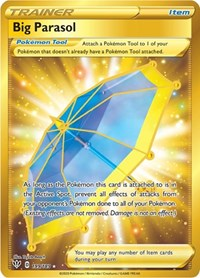 Big Parasol (Secret), Pokemon, SWSH03: Darkness Ablaze