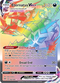 Eternatus VMAX (Secret), Pokemon, SWSH03: Darkness Ablaze