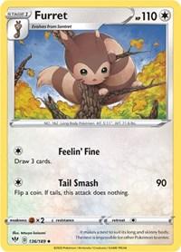 Furret, Pokemon, SWSH03: Darkness Ablaze