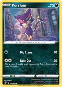 Purrloin, Pokemon, SWSH03: Darkness Ablaze