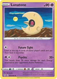 Lunatone, Pokemon, SWSH03: Darkness Ablaze
