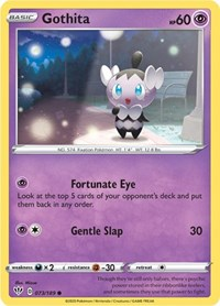 Pokemon TCG SS Darkness Ablaze Gothorita Gothitelle Gothita Mint//NM