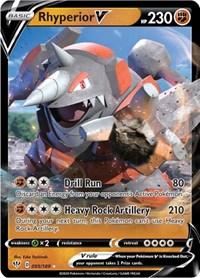 Rhyperior V, Pokemon, SWSH03: Darkness Ablaze