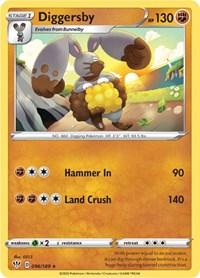 Diggersby, Pokemon, SWSH03: Darkness Ablaze