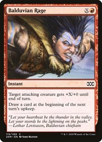 Balduvian Rage, Magic: The Gathering, Double Masters