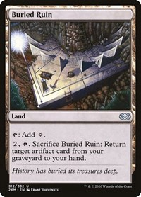 Buried Ruin, Magic: The Gathering, Double Masters