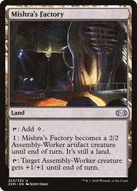 Mishra's Factory, Magic: The Gathering, Double Masters