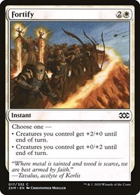 Fortify, Magic, Double Masters