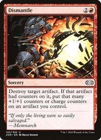 Dismantle, Magic: The Gathering, Double Masters