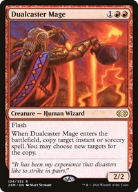 Dualcaster Mage, Magic: The Gathering, Double Masters