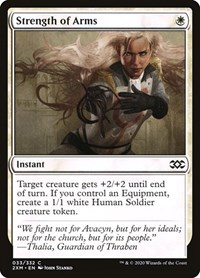 Strength of Arms, Magic: The Gathering, Double Masters
