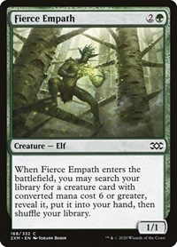 Fierce Empath, Magic: The Gathering, Double Masters