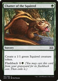 Chatter of the Squirrel, Magic, Double Masters