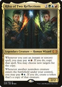 Double Masters NM//LP Riku of Two Reflections Magic//MTG
