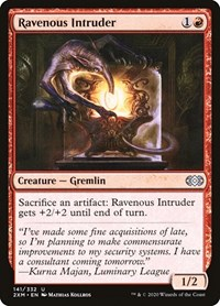 Ravenous Intruder, Magic: The Gathering, Double Masters