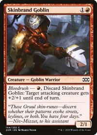 Skinbrand Goblin, Magic: The Gathering, Double Masters