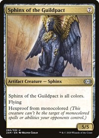 Sphinx of the Guildpact, Magic: The Gathering, Double Masters