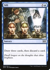 Sift, Magic: The Gathering, Double Masters