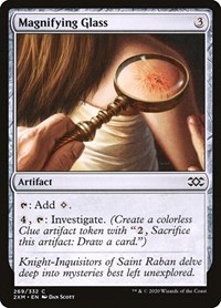 Magnifying Glass, Magic: The Gathering, Double Masters