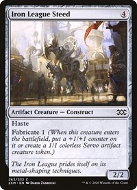 Iron League Steed, Magic: The Gathering, Double Masters