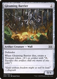 Gleaming Barrier, Magic, Double Masters