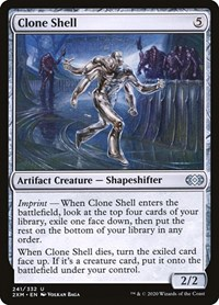Clone Shell, Magic: The Gathering, Double Masters