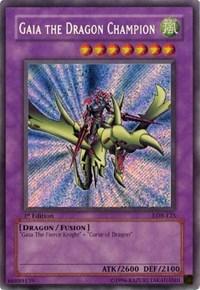 Yugioh Gaia the Dragon Champion YGLD-ENA41 Unlimited Common