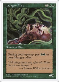 Hungry Mist, Magic: The Gathering, Fifth Edition