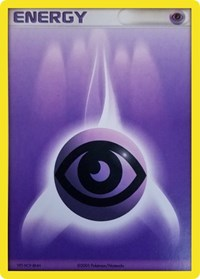 Psychic Energy (2005 Unnumbered), Pokemon, League & Championship Cards