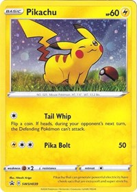 Pikachu - SWSH039, Pokemon, SWSH: Sword & Shield Promo Cards