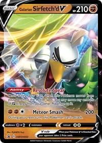 Galarian Sirfetch'd V - SWSH043, Pokemon, SWSH: Sword & Shield Promo Cards