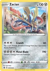 Zacian - SWSH033, Pokemon, SWSH: Sword & Shield Promo Cards