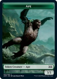 Ape // Germ Double-sided Token, Magic: The Gathering, Double Masters