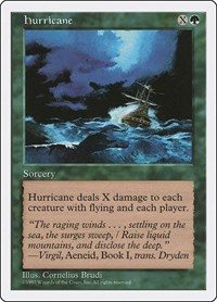Hurricane, Magic: The Gathering, Fifth Edition